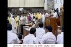 Tdp party ministers demands jagan to say sorry for calling them as baffoons