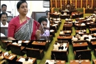 Ysrcp mla roja fires on tdp ministers in assembly