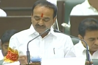 Telangana govt presents budget 2018 19 with rs 1 74 453 cr