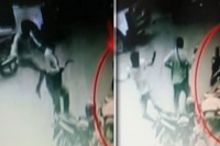 Young guy gave a kick to honour killer at hyderbad