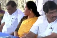 Caught on camera trs woman mla threatening voters