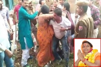 Rajasthan s bjp mla s husband thrashes cop senior party leaders intervene to resolve issue
