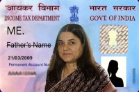 Ncw lauds maneka gandhi s proposal on pan card option for single mothers