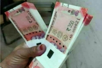 Morphed pictures of rs 350 notes are going viral on the internet