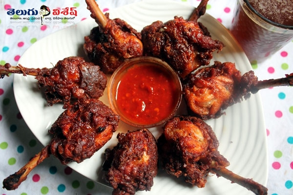 Chicken lollipops cooking tips best healthy food recipes