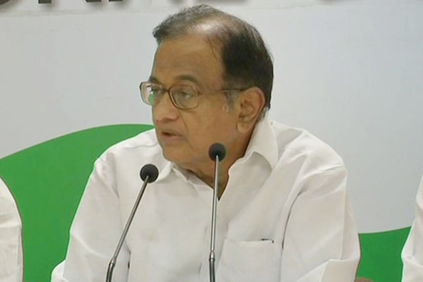 Chidambaram slams government on fuel prices and joblessness
