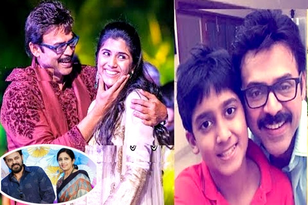 Is venkatesh s daughter opting for love marriage