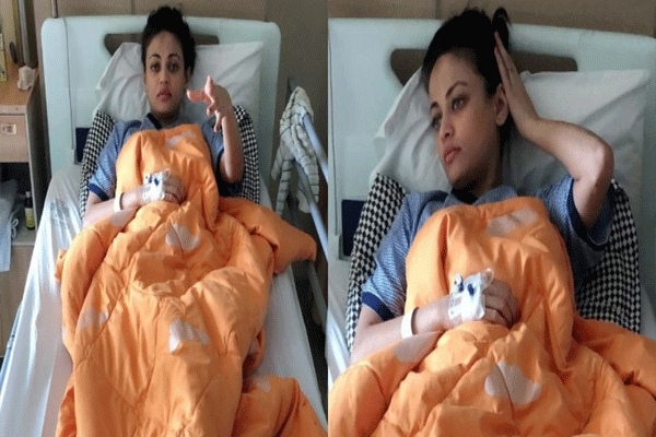 Actress sneha ullal hospitalised due to high fever