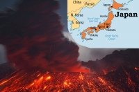 Japan will burnt after 100 years with volcanoes