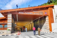 Pm modi inaugurates worlds longest highway tunnel above 10000 feet in manali