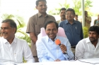 Kcr breifing about meeting with ap cm chandrababu naidu