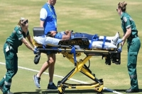 Achini kulasuriya hospitalised after shocking blow to the head in t20 world cup warm up game