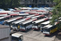 Tsrtc employees strike 6th day dussera holidays extended