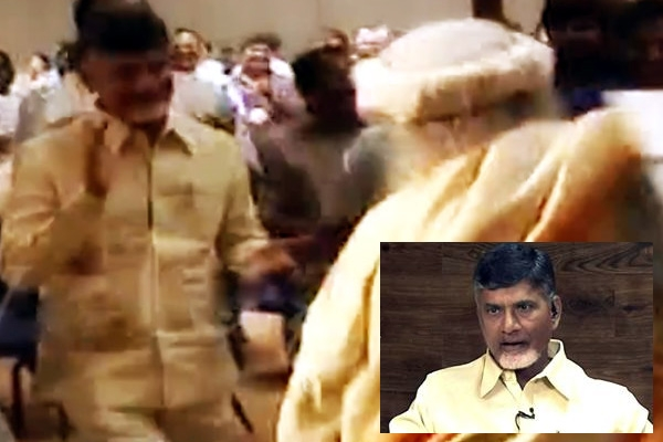 Chandrababu dance show in yoga classes with ministers