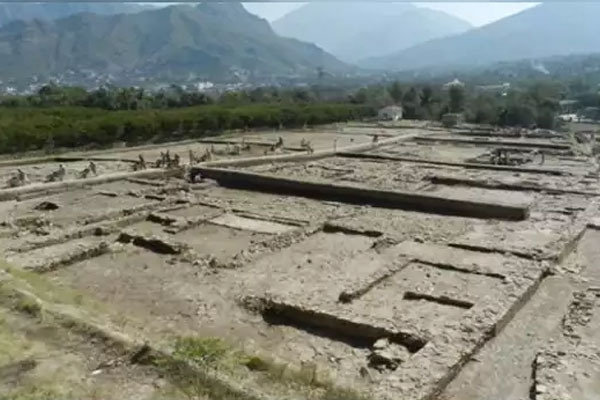 Lord vishnus 1300 year old temple discovered in northwest pakistans swat
