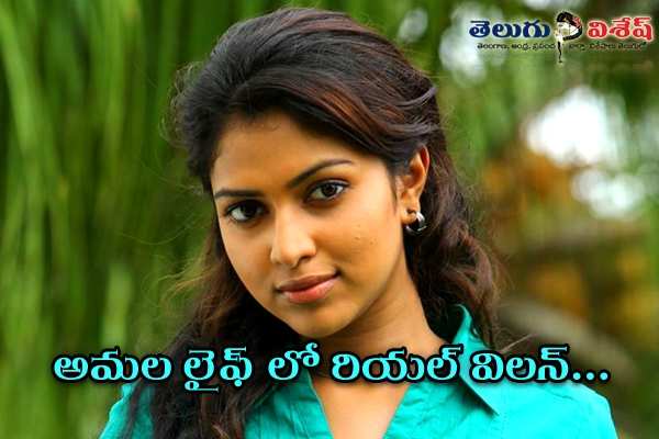 Amala paul no movies offer because of alagappan