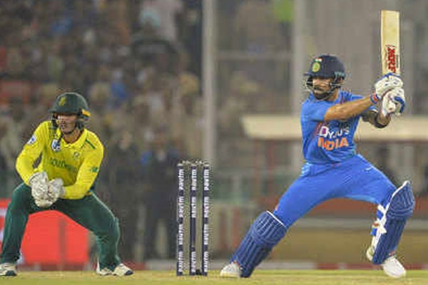 India beat south africa by 7 wickets to take an unassailable 1 0 lead