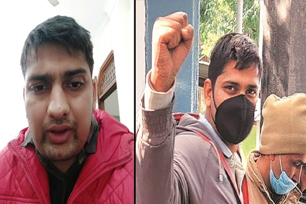 Detained journalist exposed role of bjp and delhi police on social media gets bail