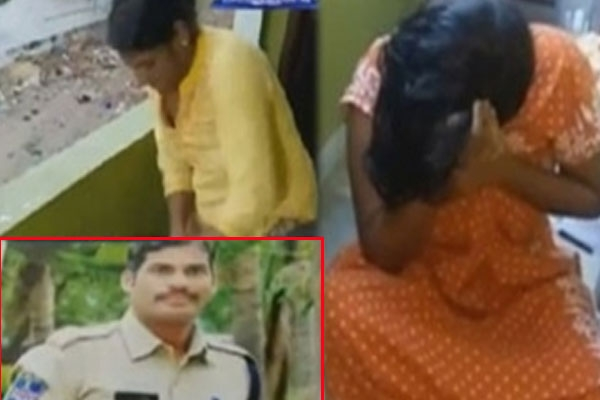Constable extra marital affair caught redhanded by wife