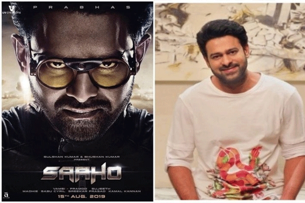 Prabhas shares the surprise with fans